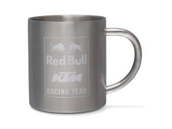 RB KTM Racing Team Steel Mug - Red Bull Kaffeebecher - Tasse - Stahl