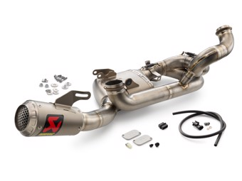 "Akrapovic-kit ""Evolution Line"""