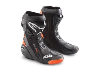 Supertech R Boots Black/Orange - Stiefel