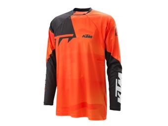 Pounce Shirt Orange - Langarm