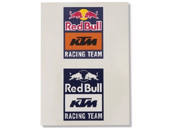 Ret Bull KTM Racing Team Sticker Set - RB KTM - Aufkleberset