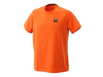 Pure Racing Tee orange - Kurzarm T-Shirt