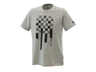 Radical Square Tee grey melange - Kurzarm T-Shirt