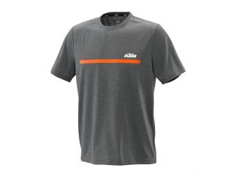 Unbound Tee grey - Kurzarm T-Shirt