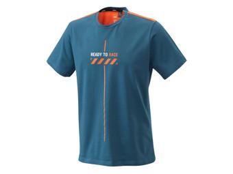 Pure Style Tee Blue - Kurzarm T-Shirt