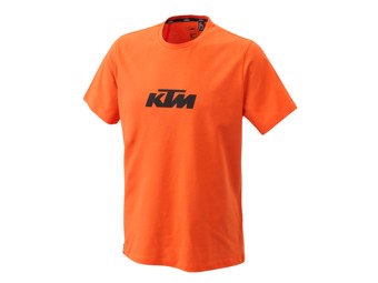 Pure Logo Tee orange - Kurzarm T-Shirt