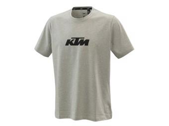 Pure Logo Tee grey melange - Kurzarm T-Shirt