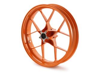 "Vorderrad 3,5x17"" orange"