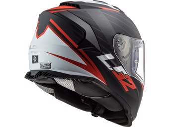 Helm - FF800 Storm Nerve Matt Black RE D