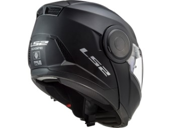 Helm - FF902 Scope Solid Matt Black
