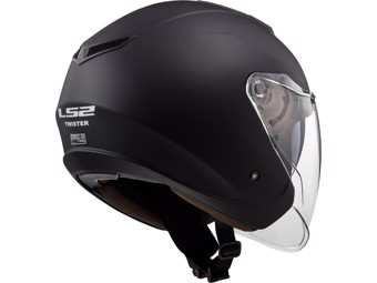 Helm - OF573 Twister II Single Mono Gloss Black