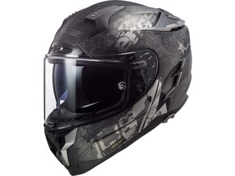 Helm - FF327 Challenger Flex Matt Black