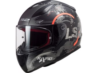Helm - FF535 Rapid Circle Titanium Fluo Orange