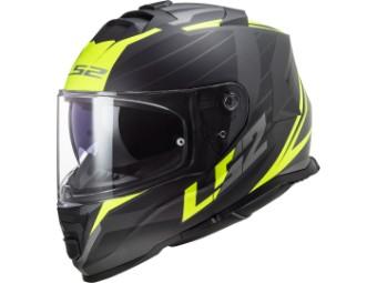 Helm - FF800 Storm nerve matt black yellow