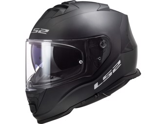 Helm - FF800 Storm Solid Matt Black