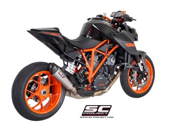 Conico Slip on Titan KTM Superduke R 14-16