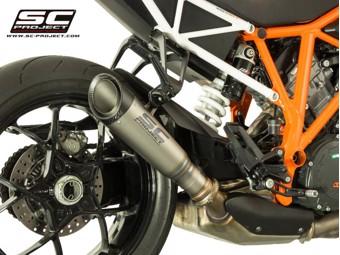 S1 Slip on Titan KTM Superduke R 14-16