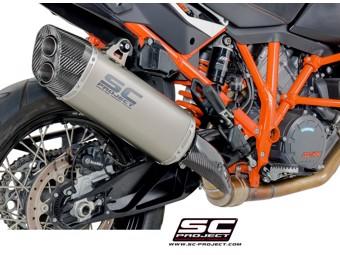 Slip on Titan KTM 1190 Adventure Auspuff