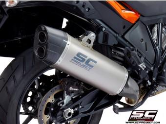 Slip on Titan KTM 1090 Adventure Auspuff