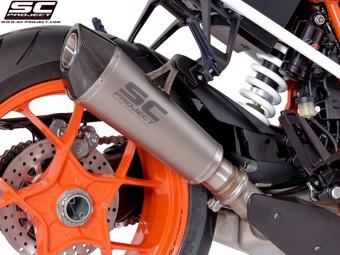 Conico Slip on Titan KTM Superduke R 17-19