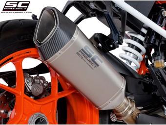 S1-R Slip on Titan KTM Superduke R 17-19
