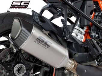 S1-R Slip on Titan KTM Superduke GT 16-18