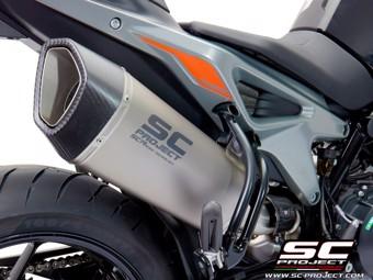 SC1-R Slip on Titan KTM 790 Duke 18-20