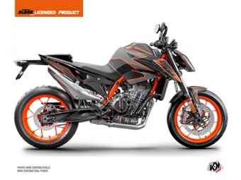 890 Duke R noir orange