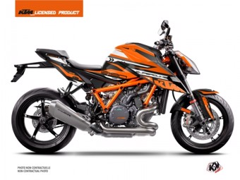 1290 Superduke R noir orange
