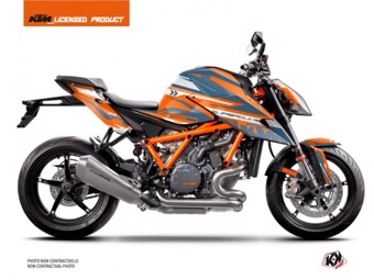 1290 Superduke R orange bleu