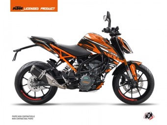 125 Duke noir orange