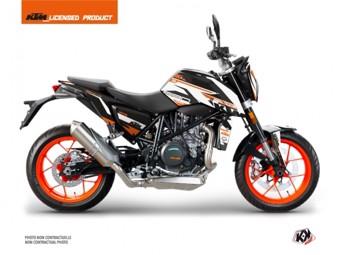 690 Duke orange blanc