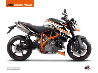 990 Superduke orange blanc