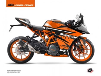125 RC noir orange
