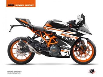125 RC orange blanc