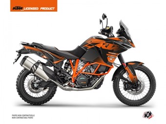 1090 Adventure R noir orange