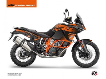 1190 Adventure R noir orange