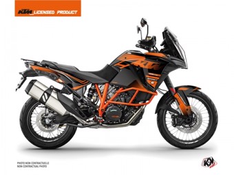 1290 Super Adventure R noir orange