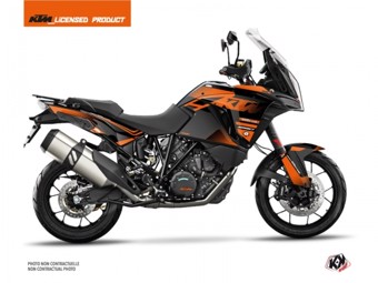 1290 Super Adventure S noir orange