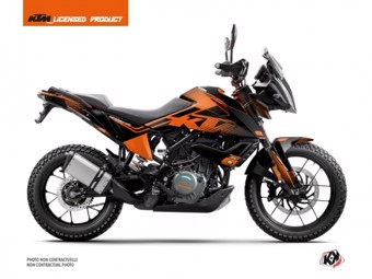 390 Adventure noir orange