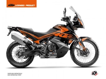790 Adventure noir orange