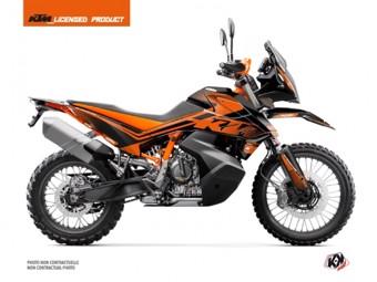 790 Aventure R noir orange