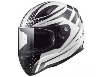 Helm - FF353 Rapid Carborace White Black