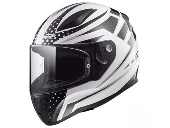 Helm - FF353 Rapid Carborace White Black