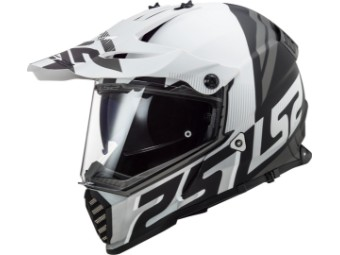 Helm - MX436 Pioneer Evo Evolve White