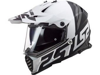 Helm - MX436 Pioneer Evo Evolve White