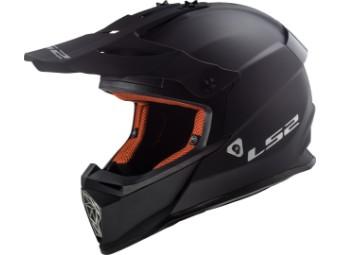 Helm - MX437 Fast Matt Black