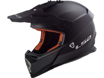 Helm - MX437 Fast Matt Black