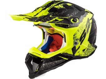 Helm - MX470 Subverter Claw Matt Black Hi Vis