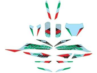 Six Days-Italien-Grafikkit